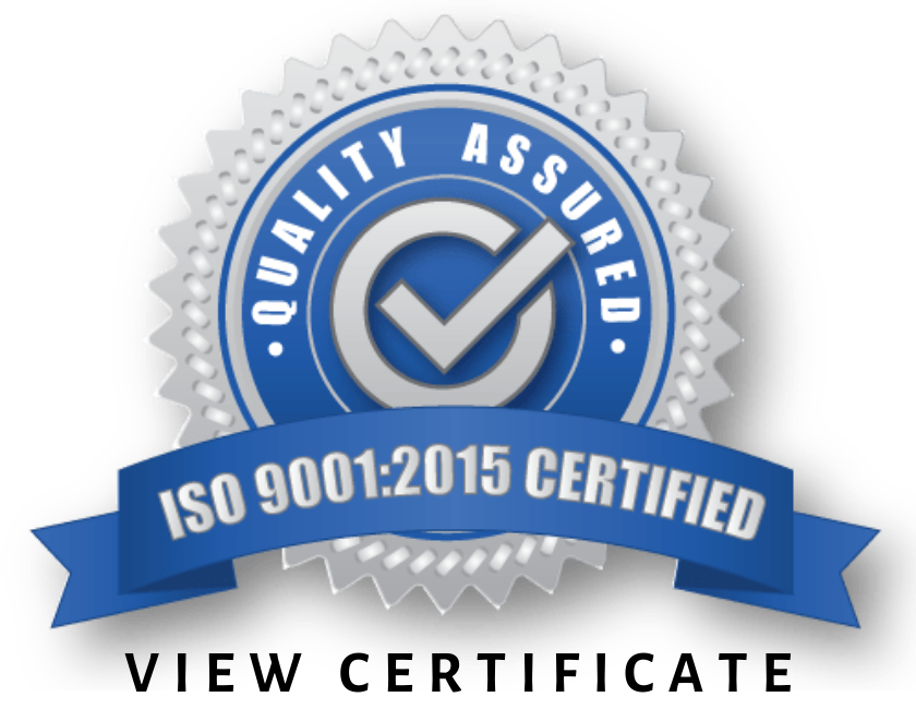 Dunkirk Metal Product's - ISO 9001 Certification